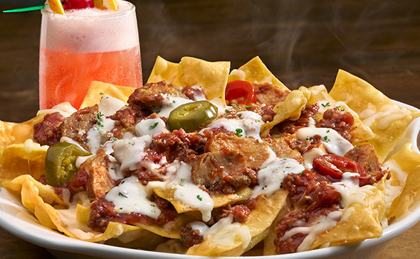 "So when I tell you that they now carry their own version of Italian ""nachos,"" yes, nachos, all you OG/carb lovers out there should rejoice."