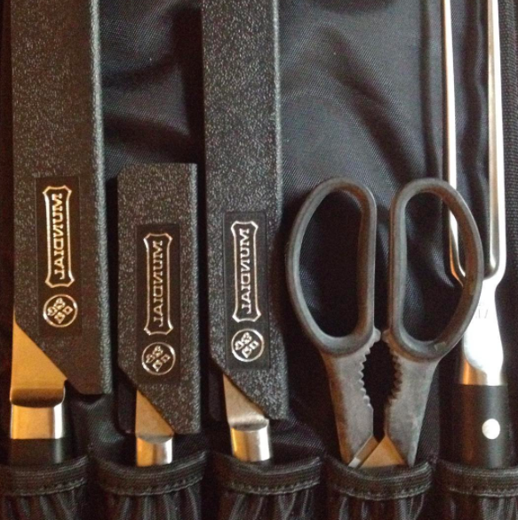 A set of knife guards that'll keep your fancy (or cheap!) knifes as sharp as the day you bought 'em.