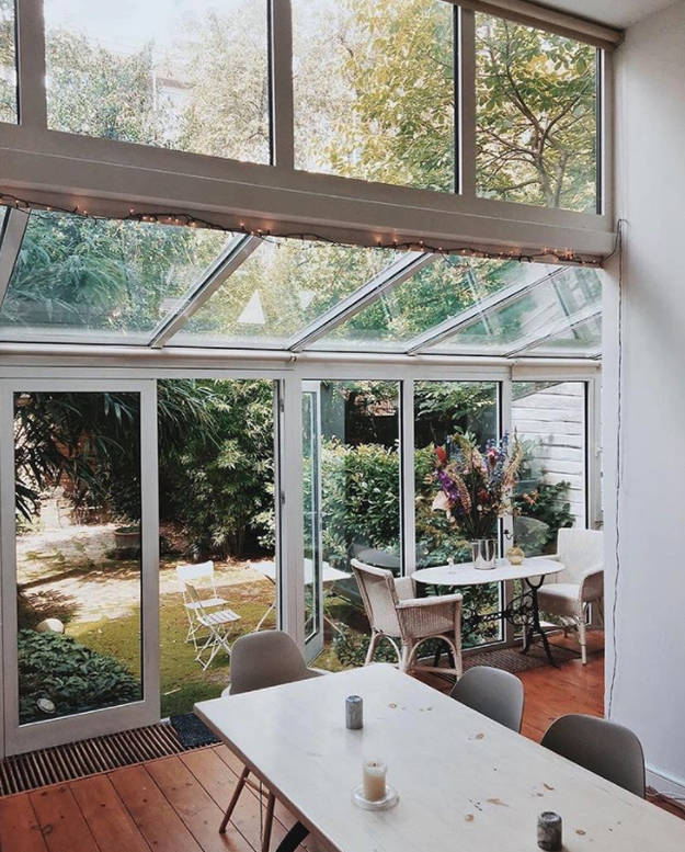 And the Vondel house in Amsterdam, currently listed at $294 a night, is just straight-up lovely: