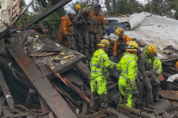 Official Issued Grave Warning About Emergency Alert System Before Mudslides Struck Southern California