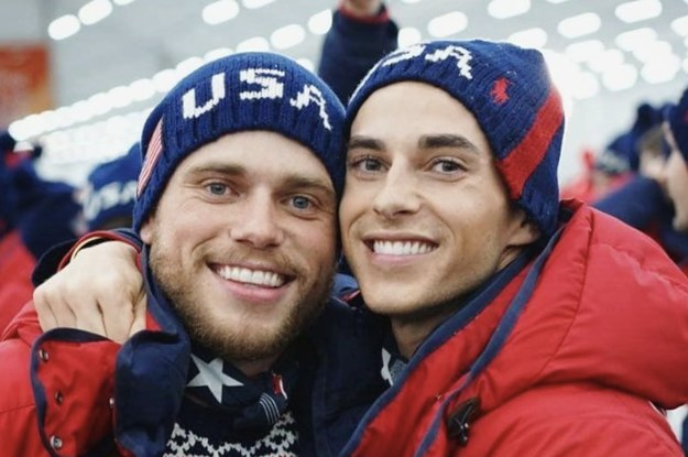 Gay Olympians Gus Kenworthy And Adam Rippon Are Putting Vice President Mike Pence On Blast