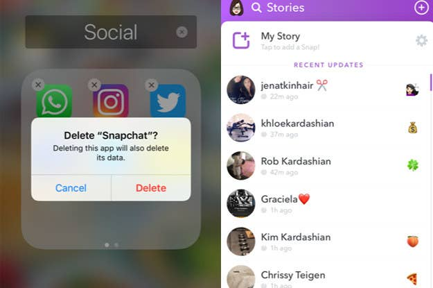 Here's How To Get Rid Of That New Snapchat Update Everyone Hates