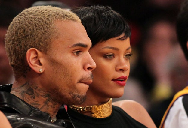 In Feb. 2009, he assaulted her, just hours before they were supposed to go to the Grammy Awards together.