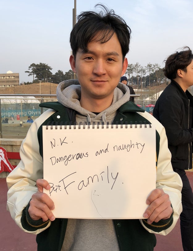 """NK: Dangerous and naughty but family."""