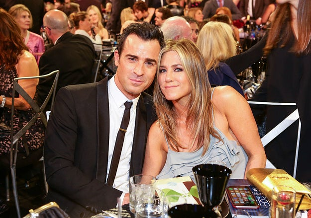 In case her life wasn't the bomb dot com already, she's been happily married to hunky hunk hunkeroo Justin Theroux for two-and-a-half years now.