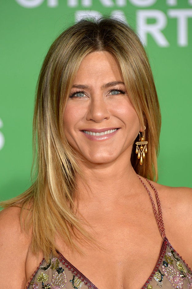 That's right, this hilarious, talented, gorgeous woman with seemingly perfect hair is now 49.