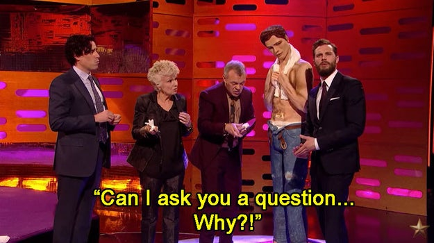 And Jamie had just one question for the maker of the cake: