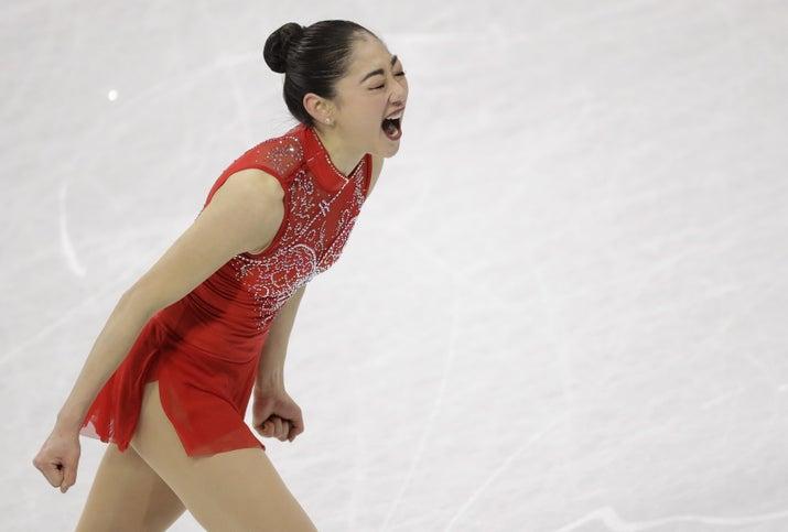奥运史上第一位成功完成「3周半跳」的美国亚裔女选手,滑冰女将激动落泪! -5a82876e6de15