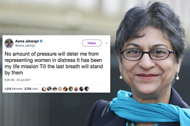 Pakistan Mourns The Loss Of Feminist Icon, Human Rights Activist And Lawyer Asma Jahangir