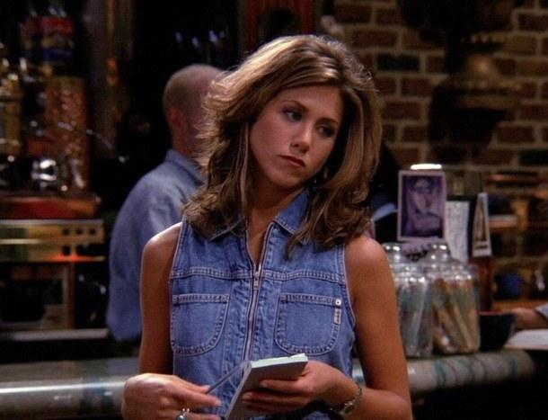 If you're a vague Friends fan, you'll obviously know who Rachel Green aka Jennifer Aniston is. She's a '90s cultural icon.