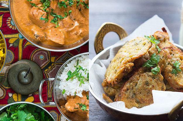 Recetas de comida india con pollo