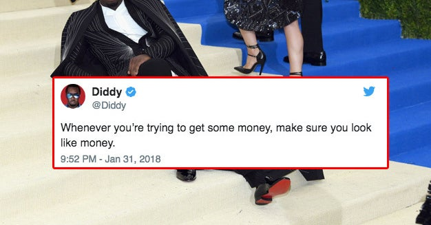 21 Diddy Tweets That Will Ensure You're Basically Rich By 2020