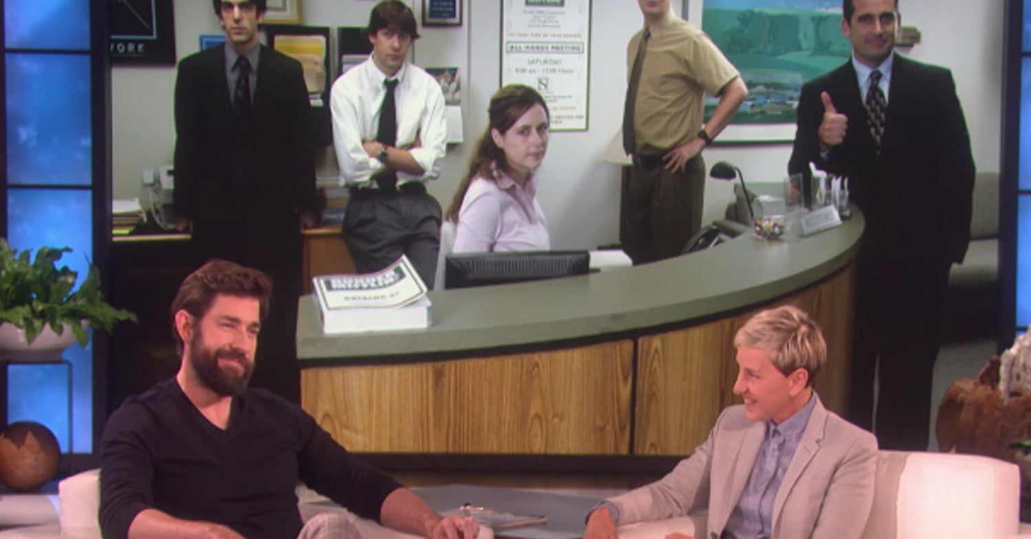 "John Krasinski Talked About A ""The Office"" Reboot, And It's Honestly The Most Jim Halpert Thing Ever"