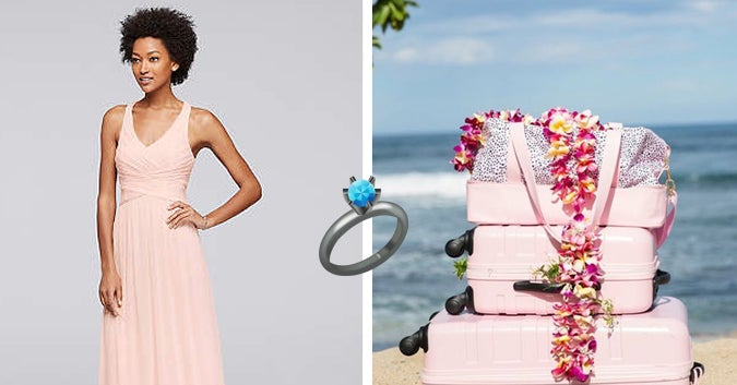Design Your Dream Wedding Dress And We'll Give You A Wedding Destination, Honeymoon, And A Celebrity Wedding Crasher