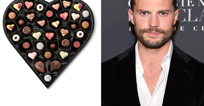 Build A Chocolate Box For Your Valentine And We'll Reveal Your Male Celeb Boo