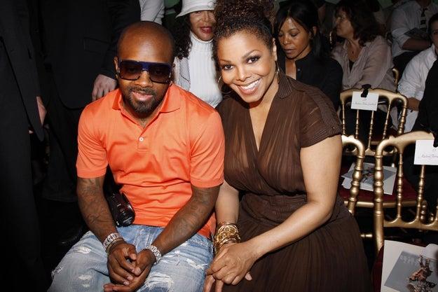 2008: Jermaine Dupri and Janet Jackson.