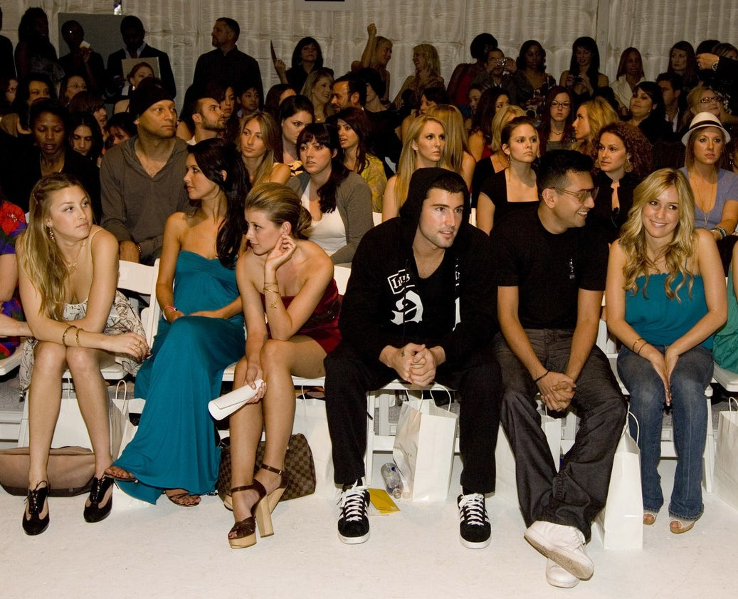 2008: The cast of The Hills showed up to support the Lauren Conrad Collection.