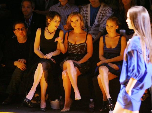2008: Winona Ryder, Christina Ricci, and Nicole Richie.