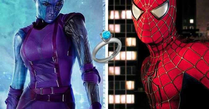 Which Marvel Characters Will Be Your Spouse, Best Man, And Maid Of Honor In Your Wedding?