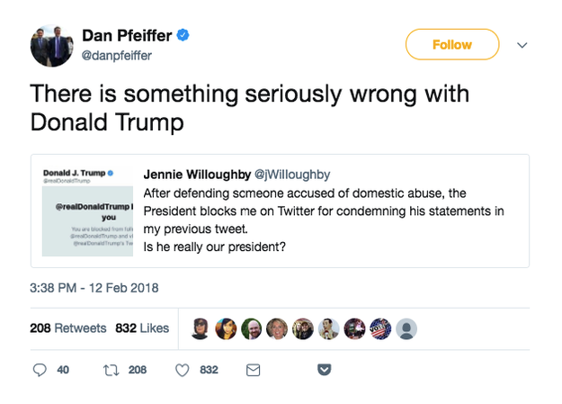 So did podcast host and CNN commentator Dan Pfeiffer. He later deleted the tweet, but didn't post a correction.