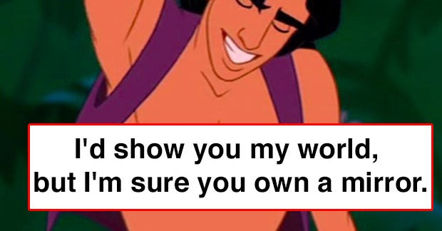 21 Disney Pick Up Lines That Are Super Nerdy But Could Surprisingly Work
