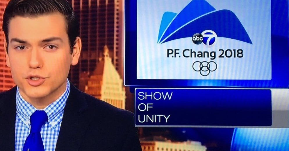 A TV Station Accidentally Said The Olympics Were At P.F. Chang's And Now Everyone Wants Lettuce Wraps