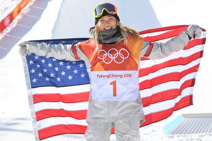 The California native is only 17 years old, making her the youngest female snowboarder to win an Olympic medal.