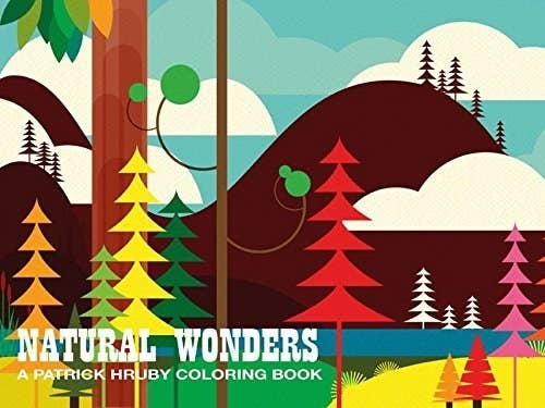 A Book Of Whimsical Simple Illustrations That Offer Plenty Room To Be Colored In Whether It Solid Colors Patterns Or Gradients