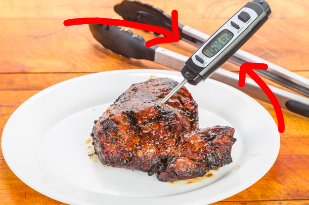 Invest in an instant-read thermometer so you can cook your steaks to the perfect level of pinkness.
