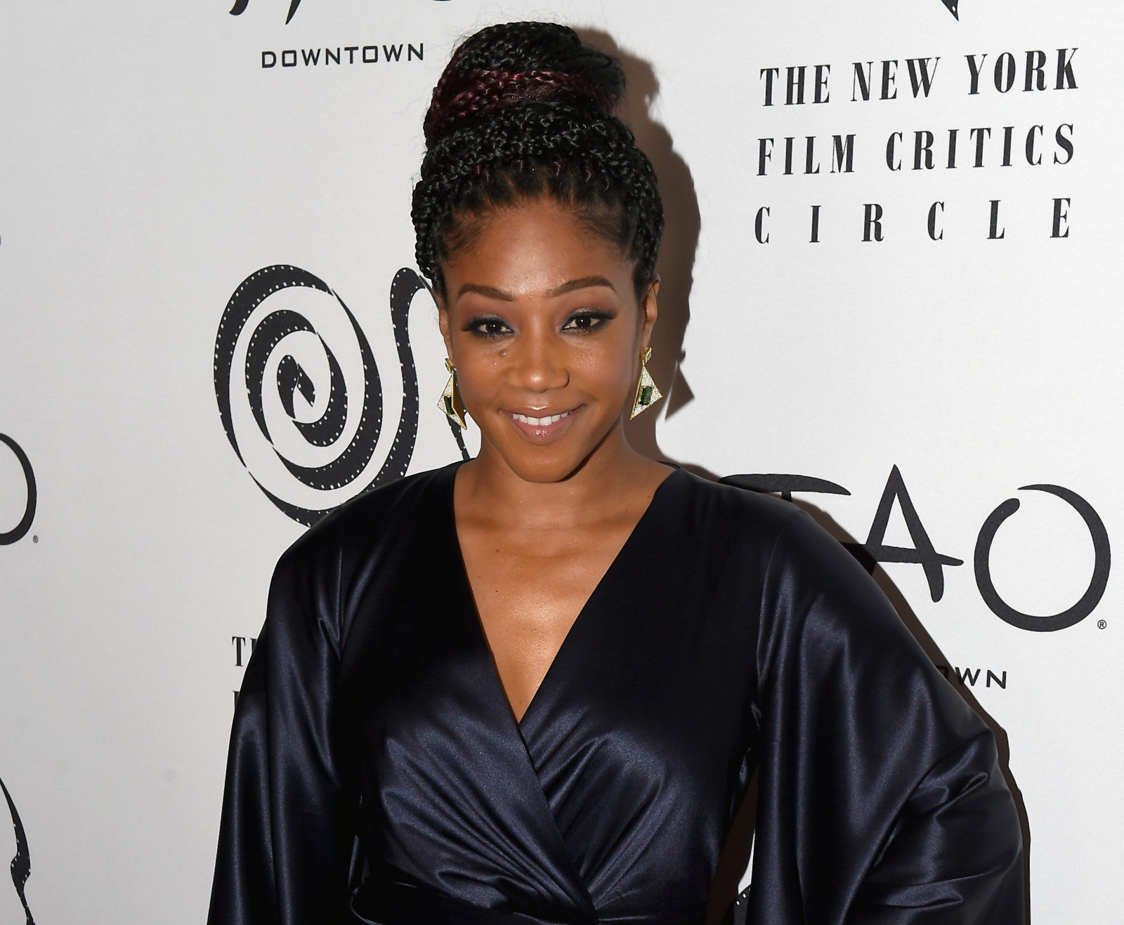 Tiffany Haddish is doing what any of us would do if we became famous: trying to meet as many celebrities as possible.