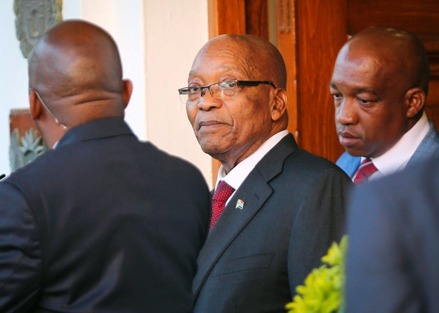 The ruling political party of South Africa has finally asked its president to resign, potentially breaking weeks of deadlock.