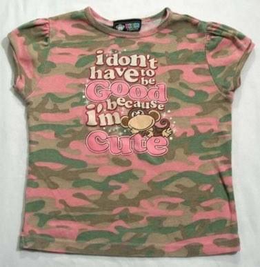 pink camo monkey t shirt