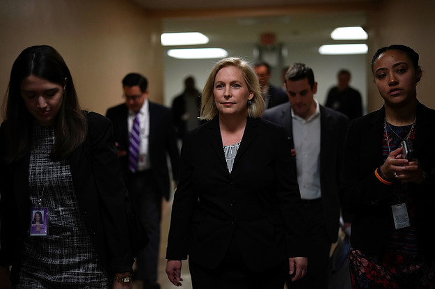 Kirsten Gillibrand Pledges To Stop Accepting Donations From Corporate PACs