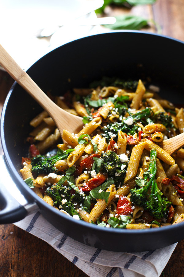 20-Minute Lemon Pesto Penne