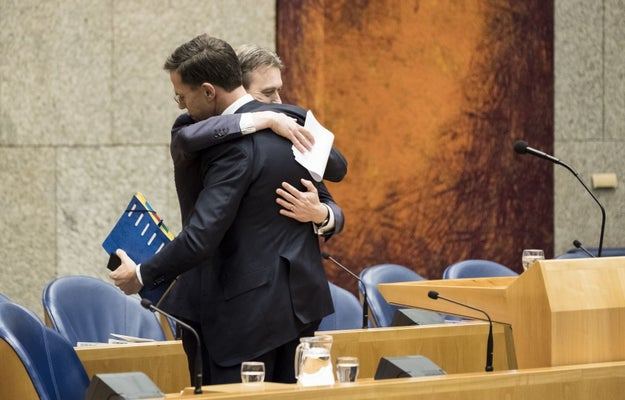 Thus Zijlstra bid a heartfelt farewell to Prime Minister Mark Rutte on Tuesday, whose center-right government the former top diplomat had served for just four months.