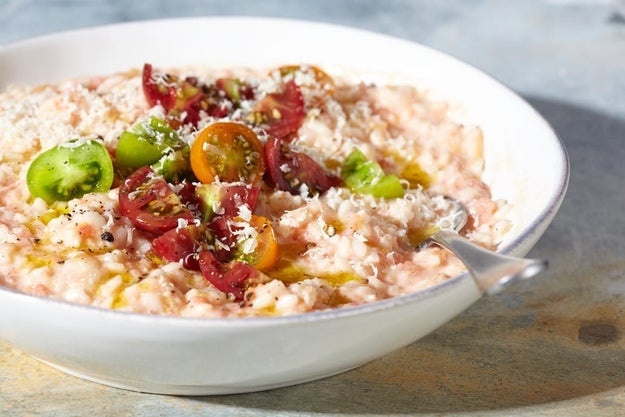 20-Minute Fresh Tomato Risotto