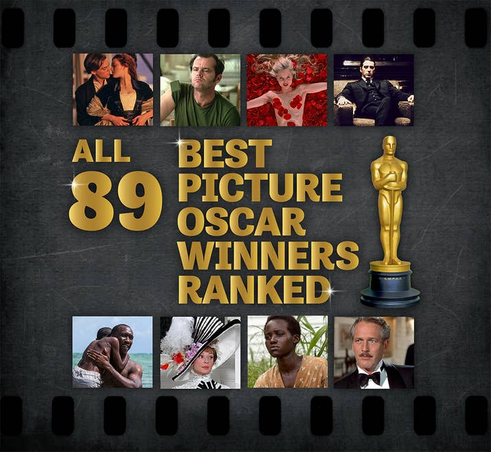All 89 Best Picture Oscar Winners Ranked