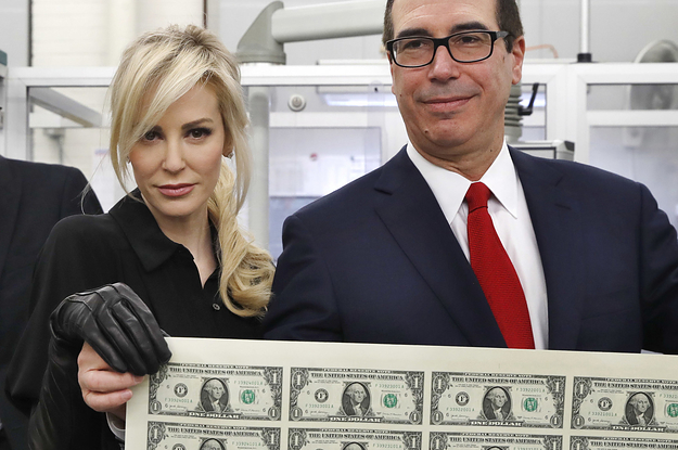 Louise Linton, The Treasury Secretary's Wife And Holder Of Sheets Of Money, Has Given An Amazing New Interview