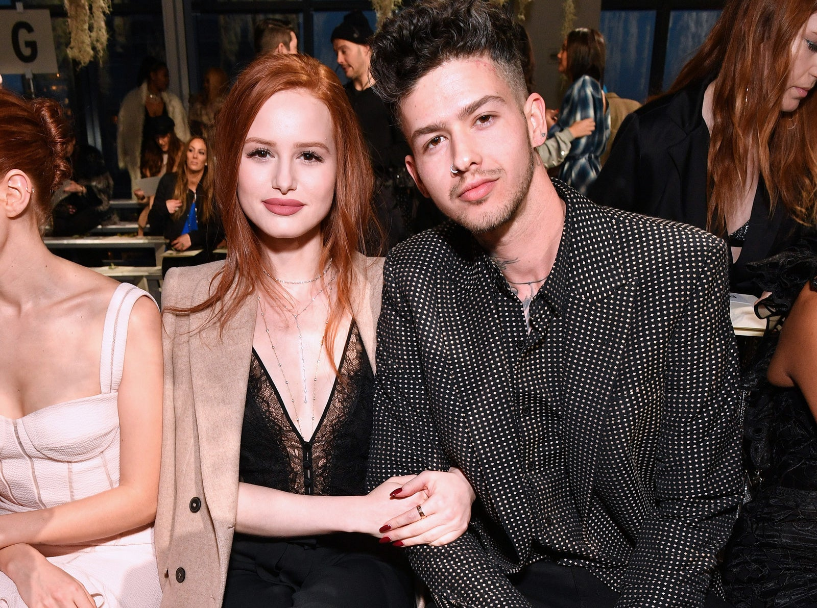 2018: Madelaine Petsch and Travis Mills.