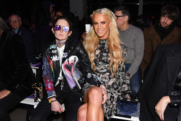 2018: Nats Getty and Gigi Gorgeous