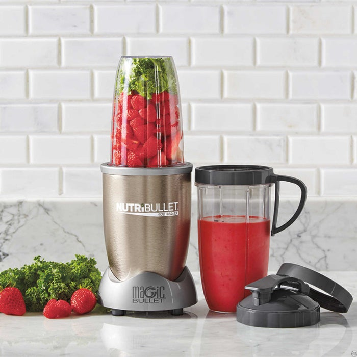 """Promising review: """"I have owned juicers and every imaginable type of blender through the years. This machine hands down is the best and easiest to use as far as creating delicious and nutritious fruit and veggie beverages. The recipe book is very hands on with great tips though I prefer to create my own concoctions. Looking forward to soup season."""" —JuiceMan55Price: $84.99"""