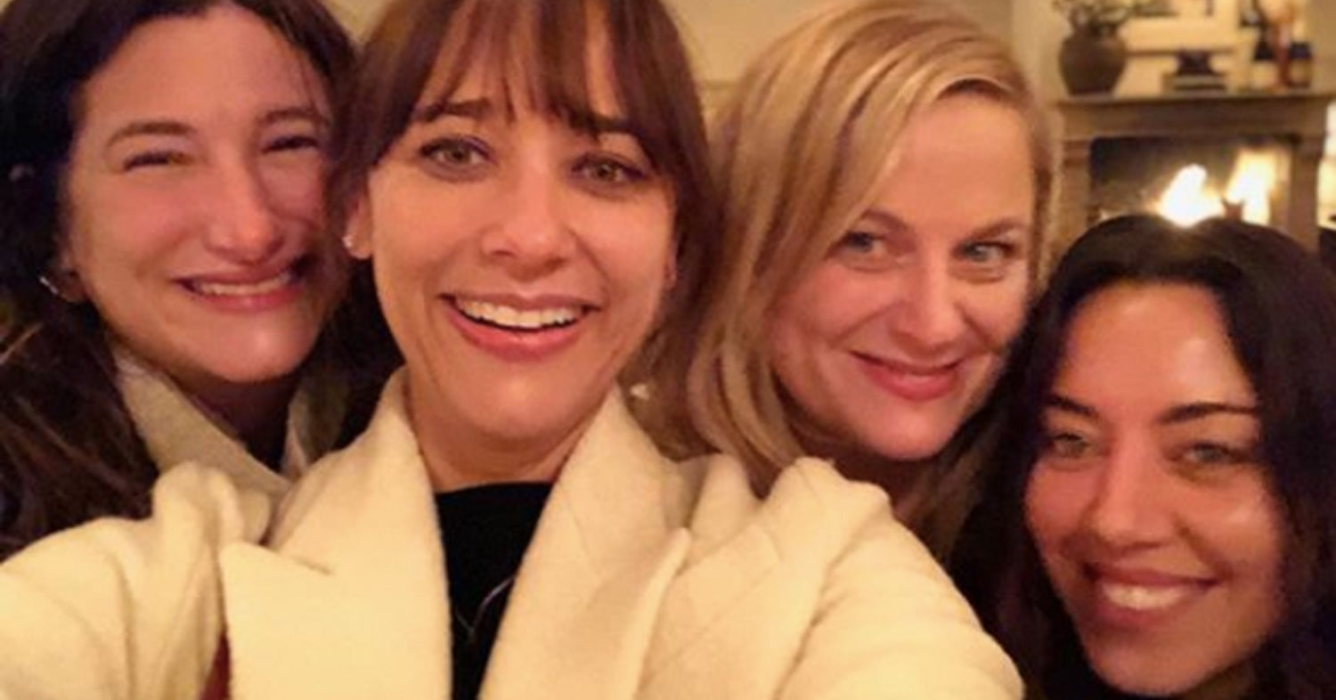 Aubrey Plaza Wished Everyone A Happy Galentine's Day On Instagram And The Picture Will Make You Emotional