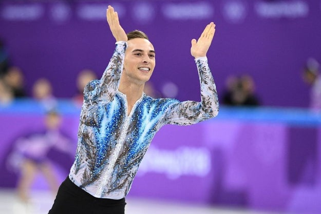 You probably know Adam Rippon — Olympic figure skater, the first openly gay man to qualify for Team USA's winter squad, BRONZE MEDALIST, and epic sass queen.