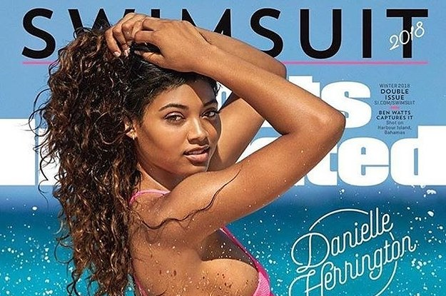Danielle Herrington Got A Surprise Message From Tyra Banks After Her S.I. Swimsuit Cover Reveal