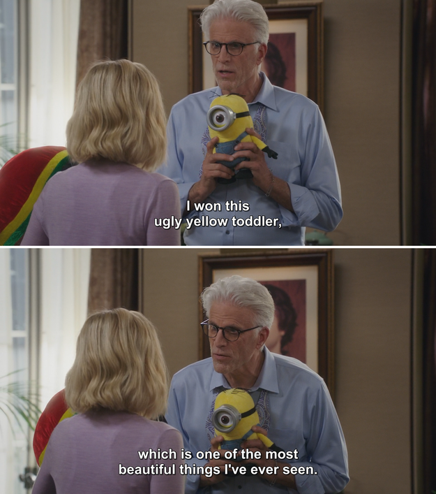 When he perfectly described Minions: