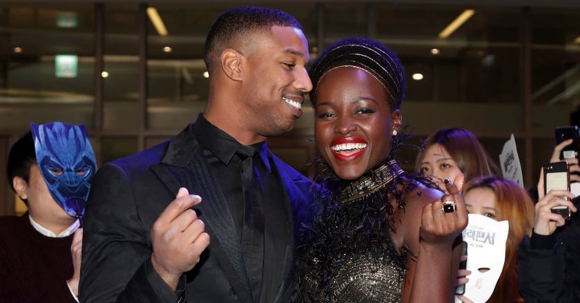 """Black Panther"" Fans Want Michael B. Jordan And Lupita Nyong'o To Date And I'm Lowkey Jealous"
