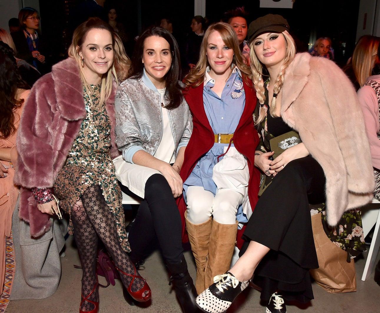 2018: Taryn Manning, Jenna-Leigh Green, Emma Myles and Francesca Curran.