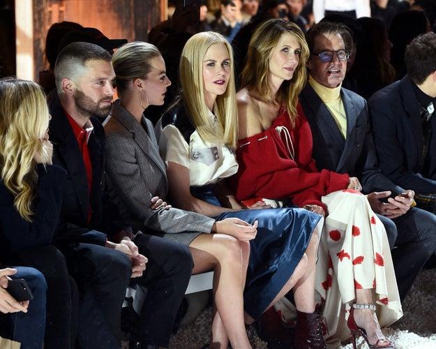 2018: Sebastian Stan, Margot Robbie, Nicole Kidman, Laura Dern, and Kyle MacLachlan.