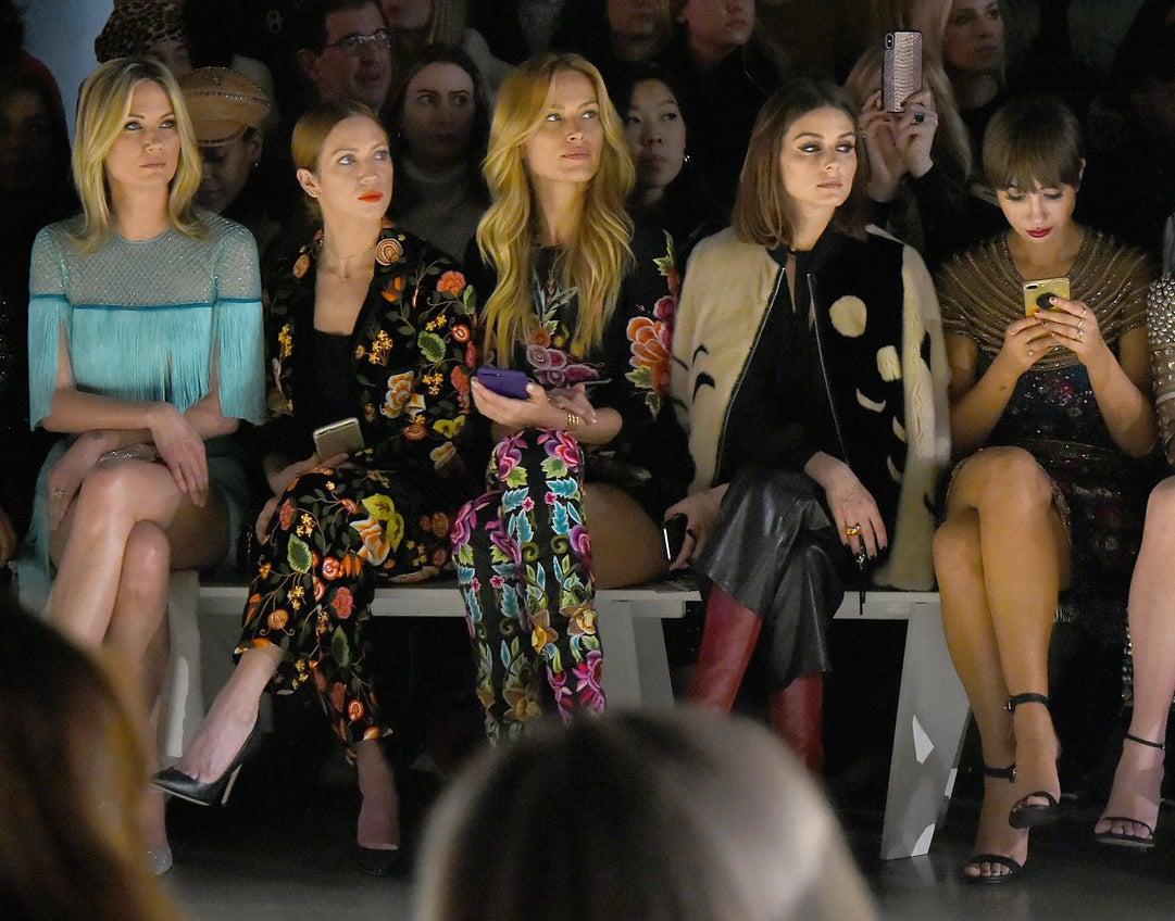2018: Jennifer Nettles, Brittany Snow, Petra Nemcova, Olivia Palermo, and Jackie Cruz.