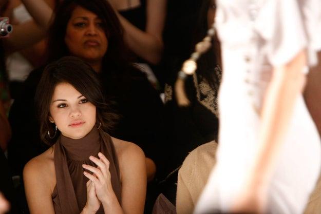 2008: Selena Gomez.